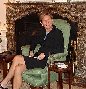 Sandra Hodgkinson - Sandra Hodgkinson at the US Embassy in the Hague