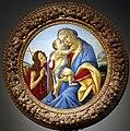 Sandro botticelli e bottega, madonna col bambino e san giovannino, 1490 ca. 01.jpg