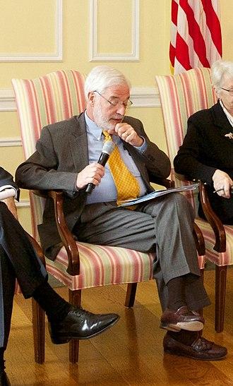 Sanford J. Ungar - Image: Sanford J. Ungar at a Public Interest Declassification Board meeting (Cropped)