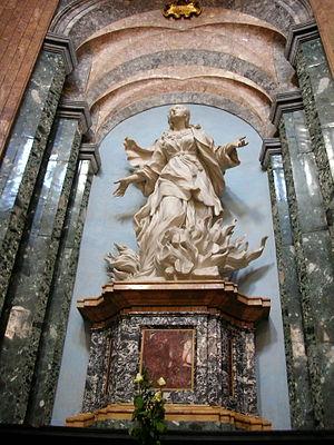 Ercole Ferrata - Image: Sant Agnese Agone S Agnese Fiamme Ste O153