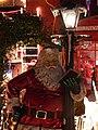 Santa Checking His Little Black Book by Gaslight. - geograph.org.uk - 97542.jpg