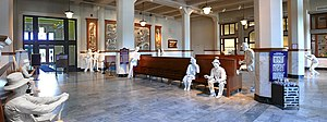Galveston Railroad Museum - Station Lobby and Waiting Area