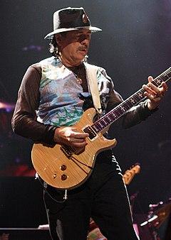 Santana vystupuje v březnu 2011