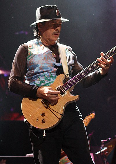 Picture of a band or musician: Carlos Santana