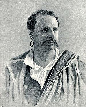 Charles Santley - Charles Santley in Auber's opera Fra Diavolo.