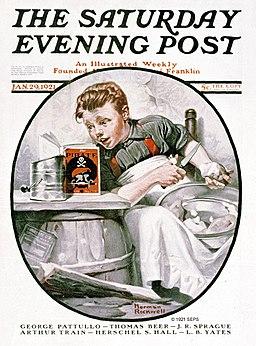 Saturday Evening Post 1921-01-29
