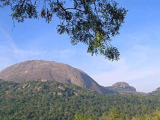 Savandurga - Savandurga from the northern side