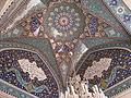Sayyidah Ruqayya Mosque hall ceiling.JPG