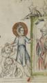 Sbs-0008 028r Jesus führt die Löwen bis vor das Stadttor.TIF