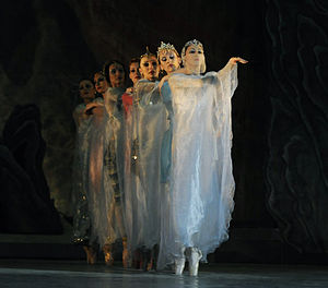 "Gara Garayev - a scene from ""Seven Beauties"" ballet."
