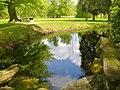 Schlosspark Wiesenburg - Teich (Wiesenburg Palace Park - Pond) - geo.hlipp.de - 36407.jpg