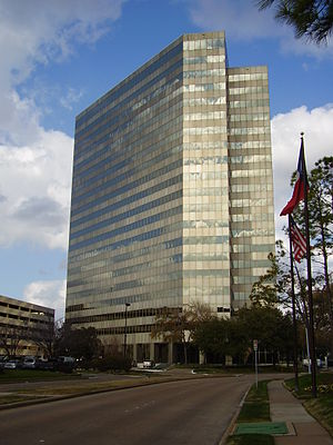 Schlumberger - This Houston building, as of 2015, houses the Schlumberger U.S. executive offices