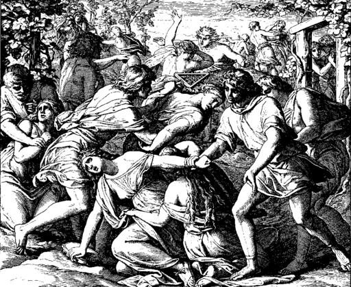 Schnorr von Carolsfeld Bibel in Bildern 1860 083