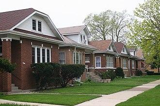 Dunning, Chicago - Schorsch Irving Park Gardens Historic District