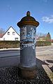 Schwaan, Bützower Straße 4, Litfaßsäule.jpg