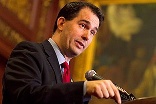 WI Governor Scott Walker. Photo: Megan McCormick