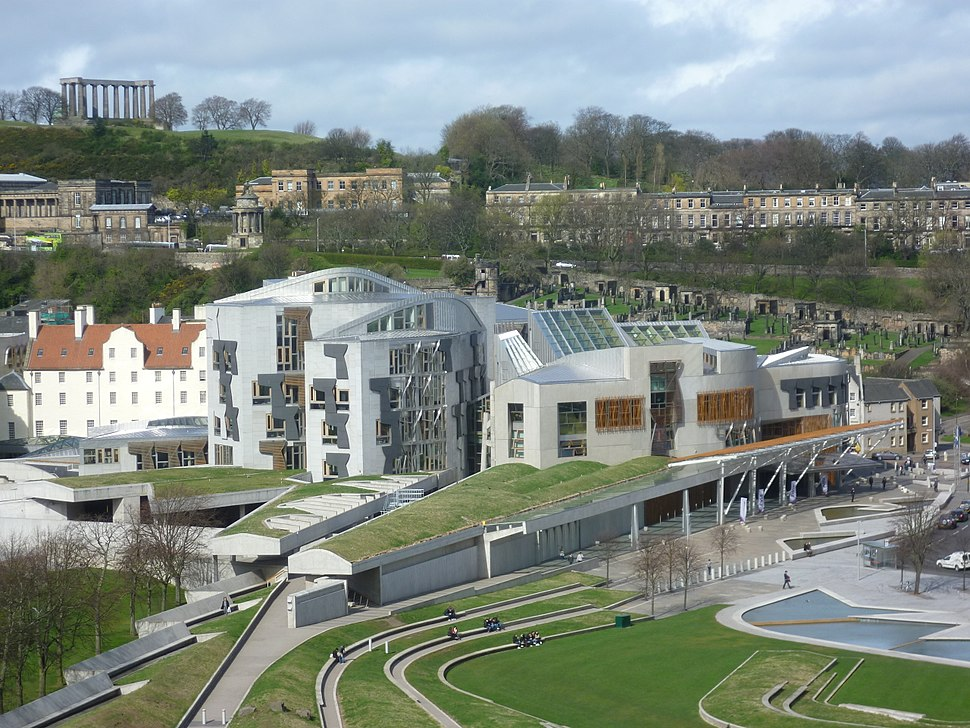 Scottish Parliament building, Holyrood