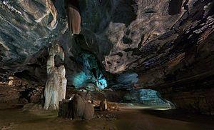 Sudwala Caves - First cavern Sudwala Caves