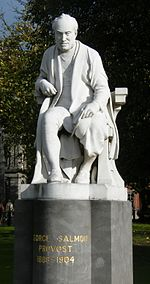 Sculpture of George Salmon at Trinity College, Dublin.jpg