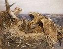 Sea Eagle's Nest (Bruno Liljefors) - Nationalmuseum - 18654.tif