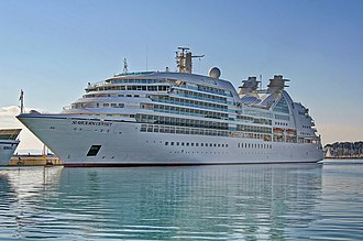 Seabourn Cruise Line - Image: Seabourn Odyssey (ship, 2009) IMO 9417086 in Split, 2011 11 16 (2)