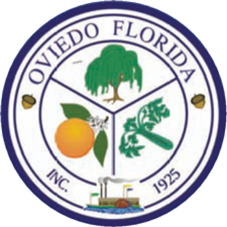 Oviedo, Florida - Image: Seal of Oviedo, Florida