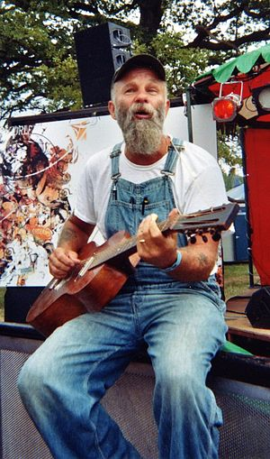 Seasick Steve - Seasick Steve at The Big Chill 2006