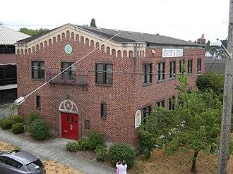 Atlantic, Seattle - Atlantic Street Center, 2103 S. Atlantic Street. The center began in 1910 as a settlement house for Italian immigrants.