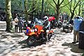 Seattle - VE Day 72nd anniversary celebrations - 13 - motorcycles.jpg