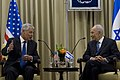 Secretary of Defense Chuck Hagel meets with Israeli President Shimon Peres in Jerusalem, April 22, 2013 (Pic 2).jpg