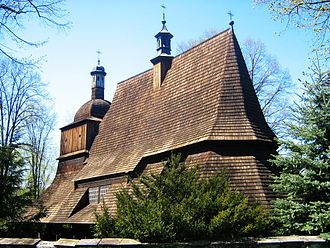 Wooden churches of Southern Lesser Poland - Old church in Sękowa