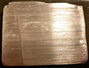gypsum, variety selenite
