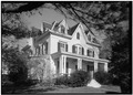 September 1966 GENERAL VIEW OF EXTERIOR - Allen Nichols House, 494 Harbor Road, Southport, Fairfield County, CT HABS CONN,1-SOUPO,37-1.tif