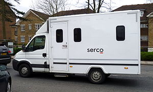Serco - A Serco van