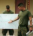 Sergeant Daniel Smith, USMC, conducts a tactical decision game.jpg
