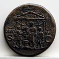 Sesterzio di caligola con tempio esastilo, 37-38 dc., roma.jpg