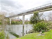 Sewer bridge at Pukete, Hamilton