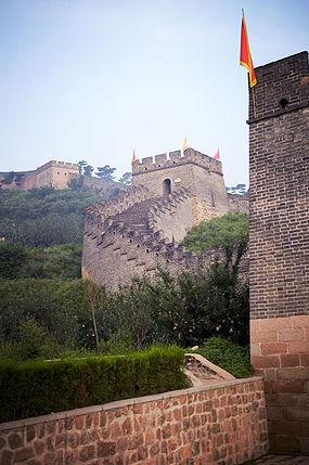 Et parti af Den kinesiske mur i Shanhaiguan.