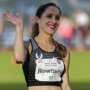 Shannon Rowbury - Rowbury in 2016