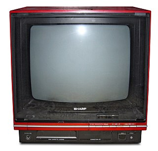 Sharp Nintendo Television television produced by Sharp Corporation with a built-in licensed Nintendo Entertainment System