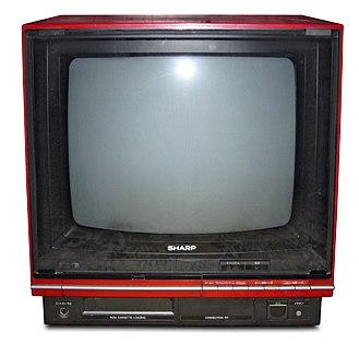 Sharp Nintendo Television - Image: Sharp C1 NES TV 14C C1F