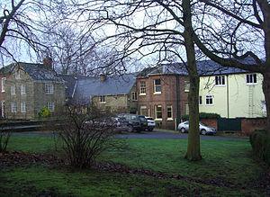 Sharrow Mills - The buildings seen from Frog Walk.