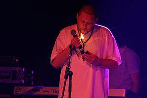 Shaun Ryder - Ryder at the 2007 Coachella Music Festival.