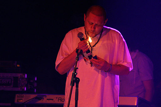 Shaun Ryder of The Happy Mondays and Black Grape