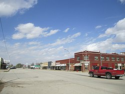 Downtown Shidler, 2003