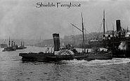 Shields Ferryboat early 1900's