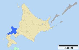 Shiribeshi Subprefecture - Image: Shiribeshi Subprefecture