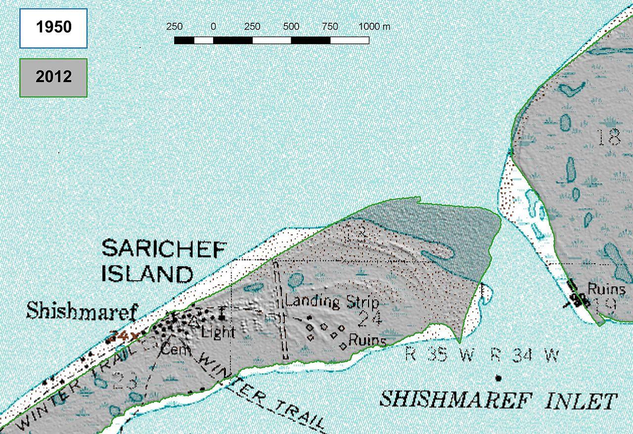 阿拉斯加小镇希什马廖夫(Shishmaref)将整体迁移 - wuwei1101 - 西花社