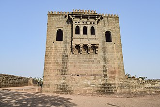Shivneri - Shivneri fort in located on top of the Shivneri hill, Junnar