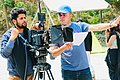 Shooting Picture of a music video Dharai Nakholi.jpg